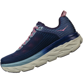 Hoka One One Bondi 6 Running Shoes Damen marlin/blue ribbon